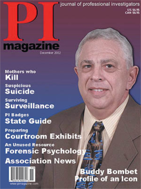 Private Investigator Magazine - Buddy Bombet